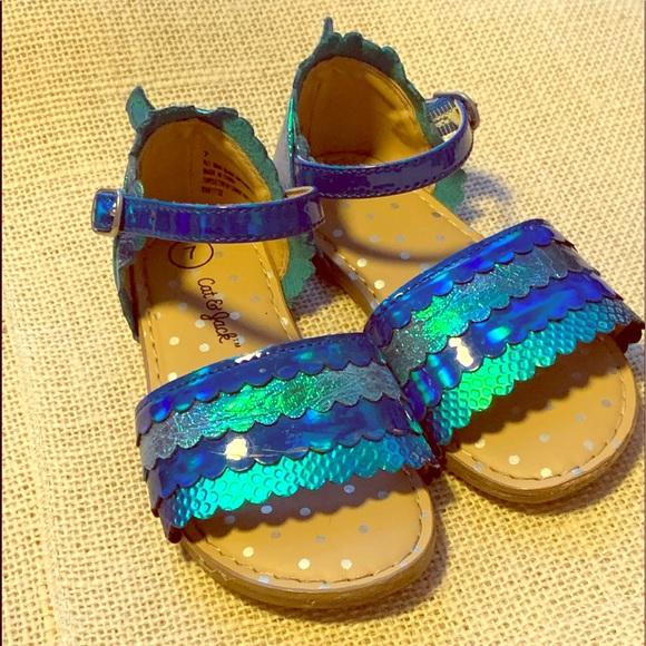 Cat /& Jack Girls/' Gladiator Rainbow Valiant Sandals